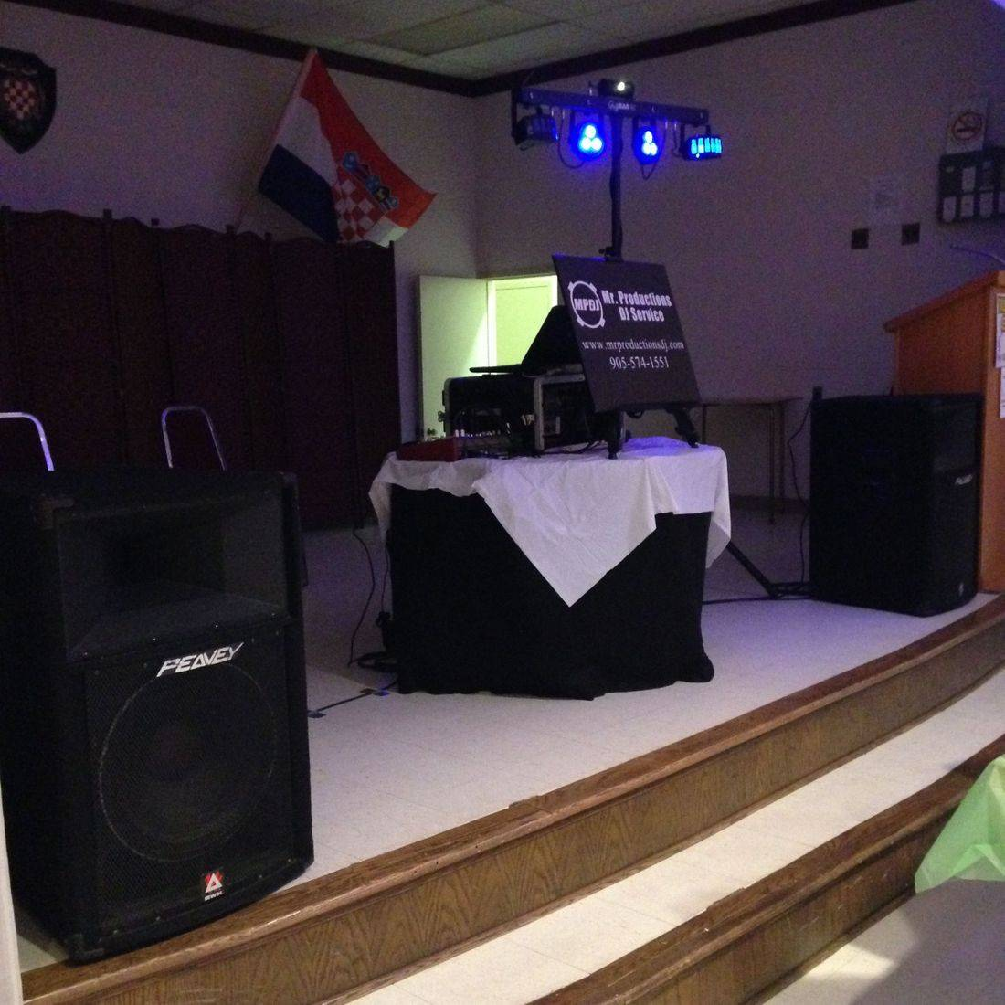 Stag and Doe DJ Mr. Productions DJ Service