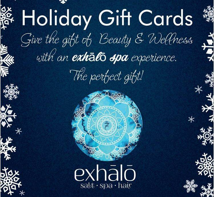 Barrhaven Spa, exhalo spa Gift Certificate