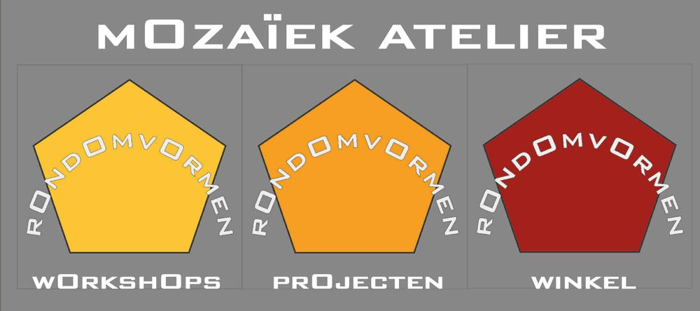 Mozaïek atelier Rondomvormen