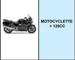 MOTOCYCLETTE >125 CC