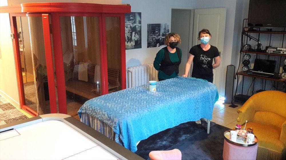 Bien-être Chez Martine et Philippe avec Mains d'Ange, massages sur demande