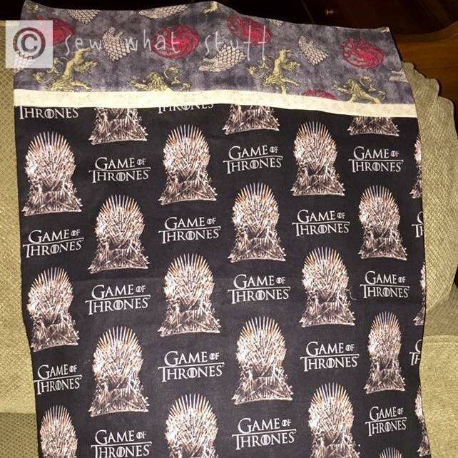 Handmade Game Of Thrones Pillowcase