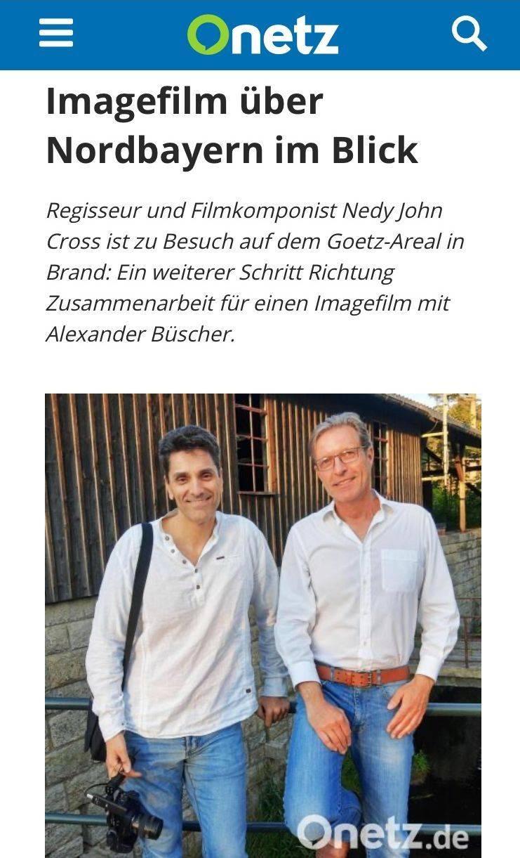 Goetz Areal, Alexander Buescher, Nedy John Cross, Filmprojekt