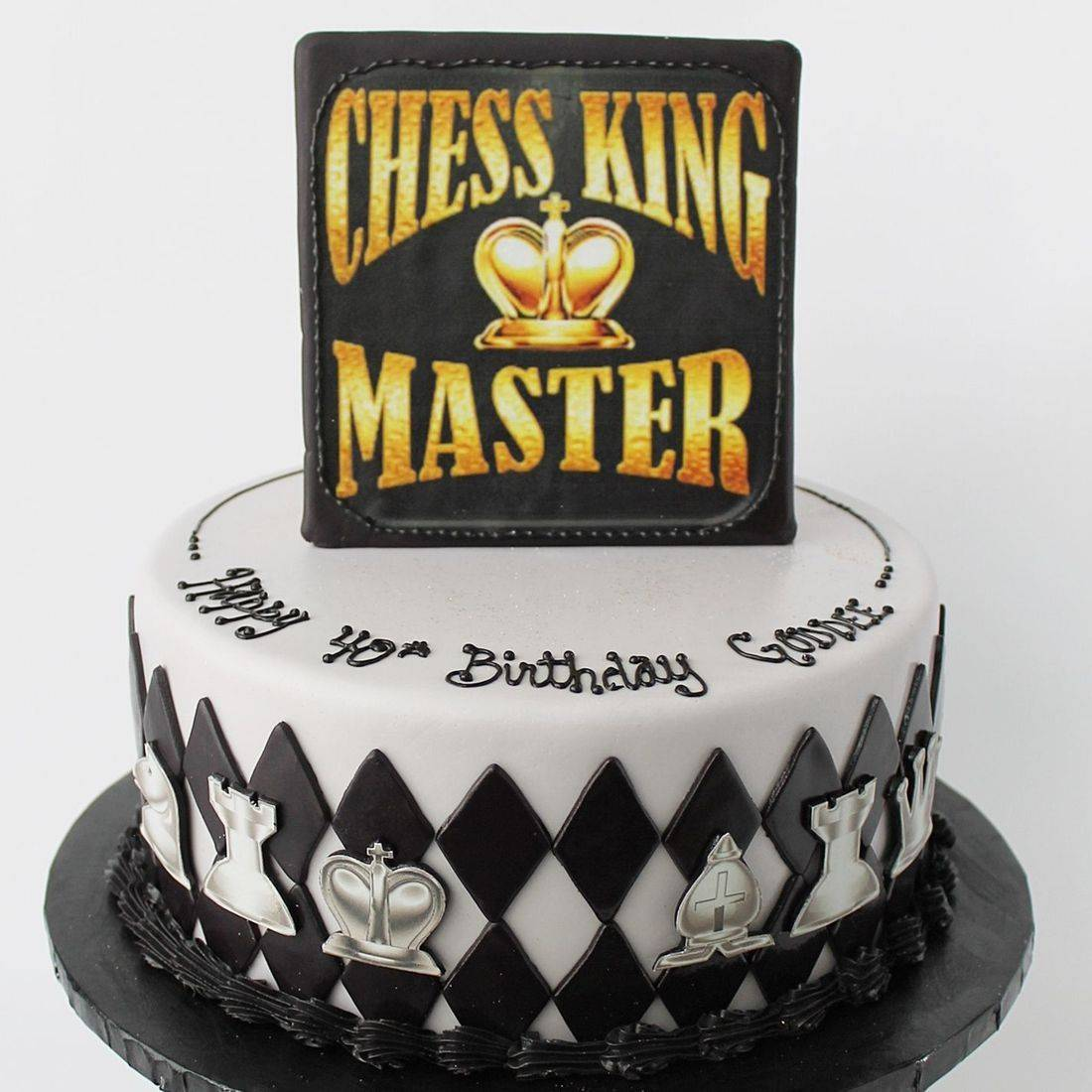 Custom Chess Cakes