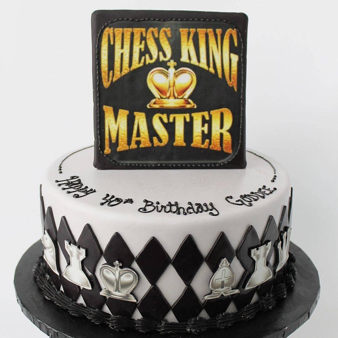 Custom Chess Cakes