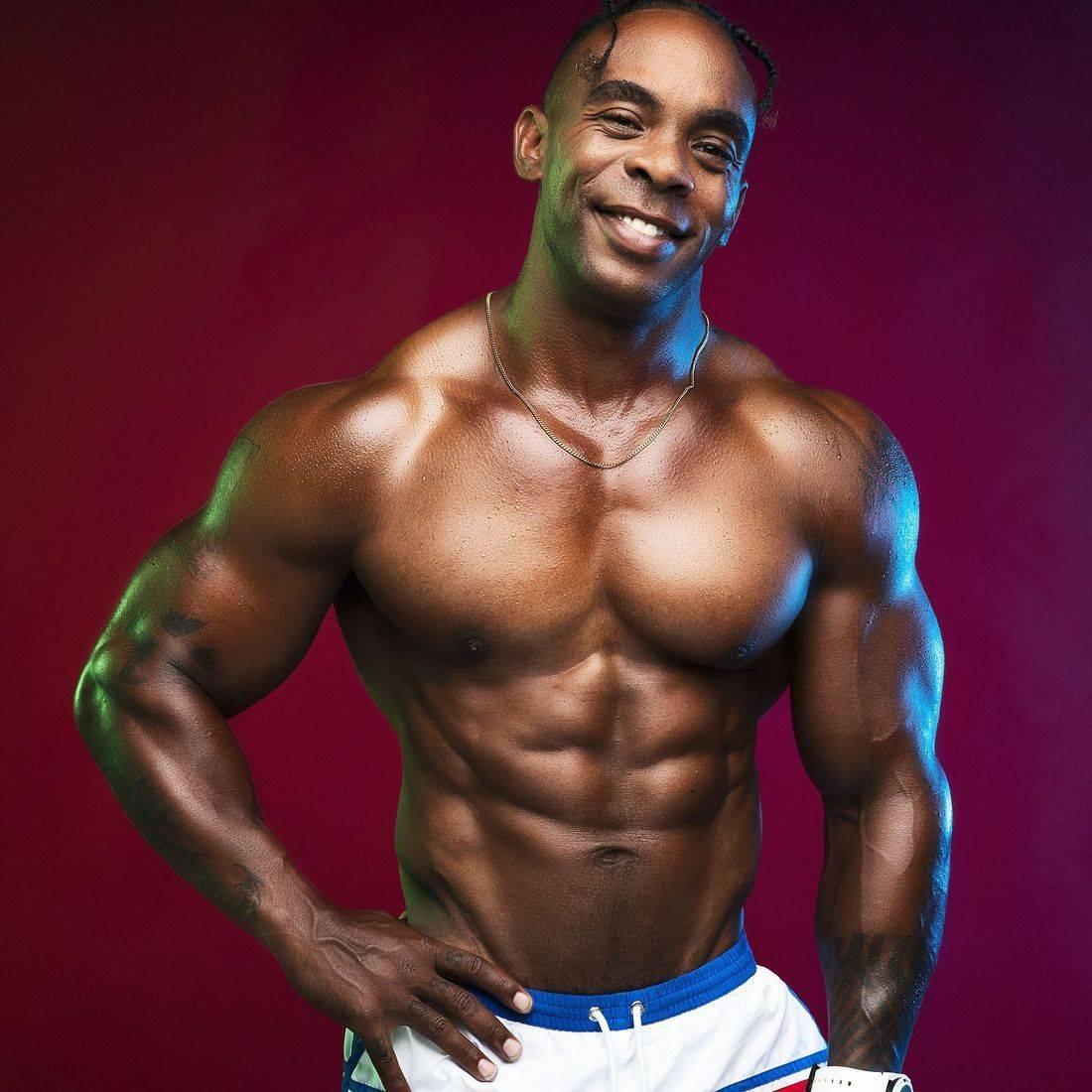 Byron K Hayes IFBB Pro Bodybuilder