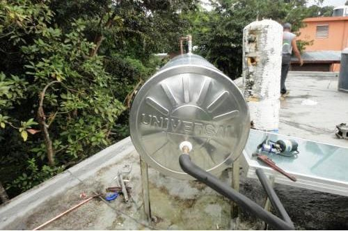 Tanque calentador solar