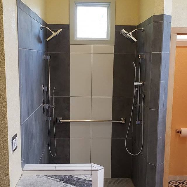 Custome Double Shower