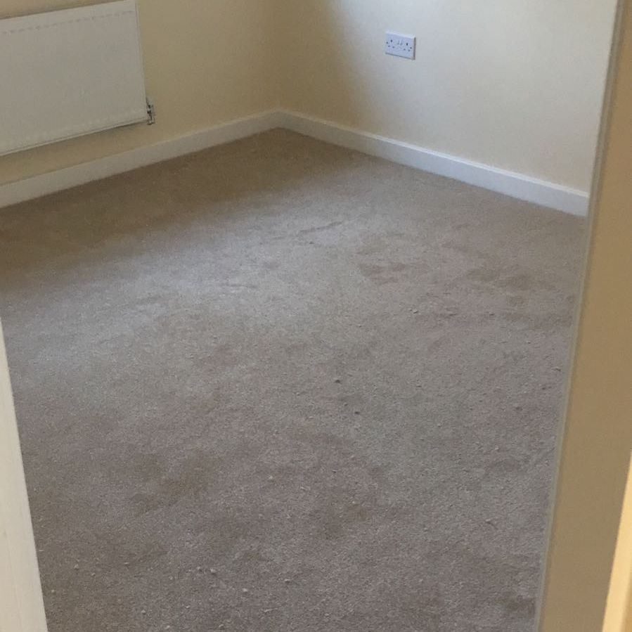 Carpet fitted in a bedroom