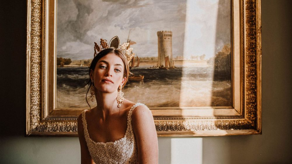 Bridal Photoshoot at Nunsmere Hall