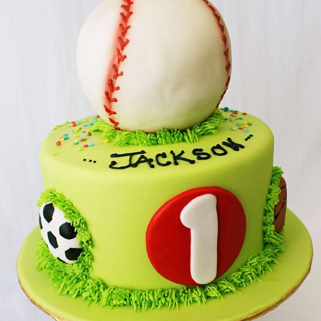 Custom  Sports Cakes  Milwaukee