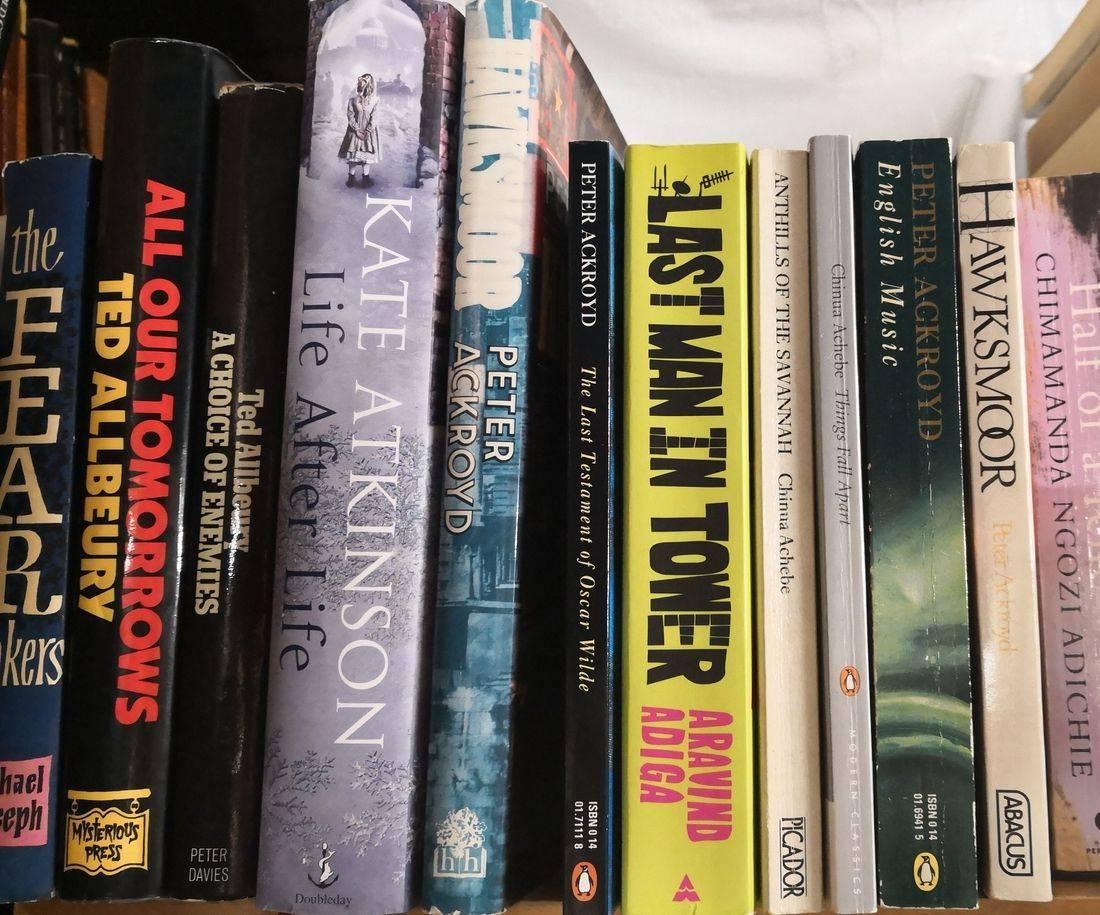A-Z Fiction at Brenda Books