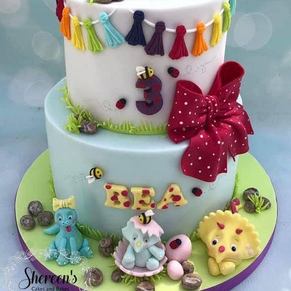 Birthday Cake Dinosaur