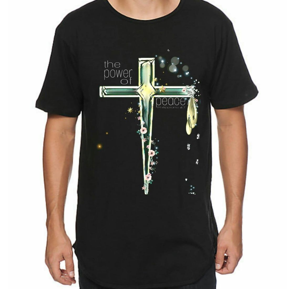 White Wolf Clothing. Christian T-Shirts - POWER OF PEACE