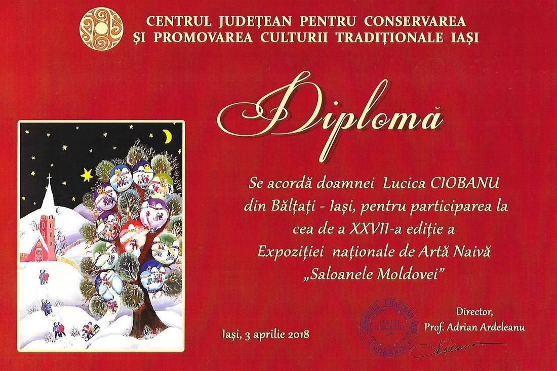 Lucica Ciobanu - Arta Naiva