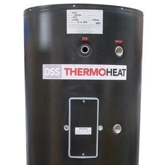 Duplex Stainless insert Heat pump water heater ready 3kW b