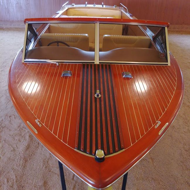 Streblow wood boat for sale
