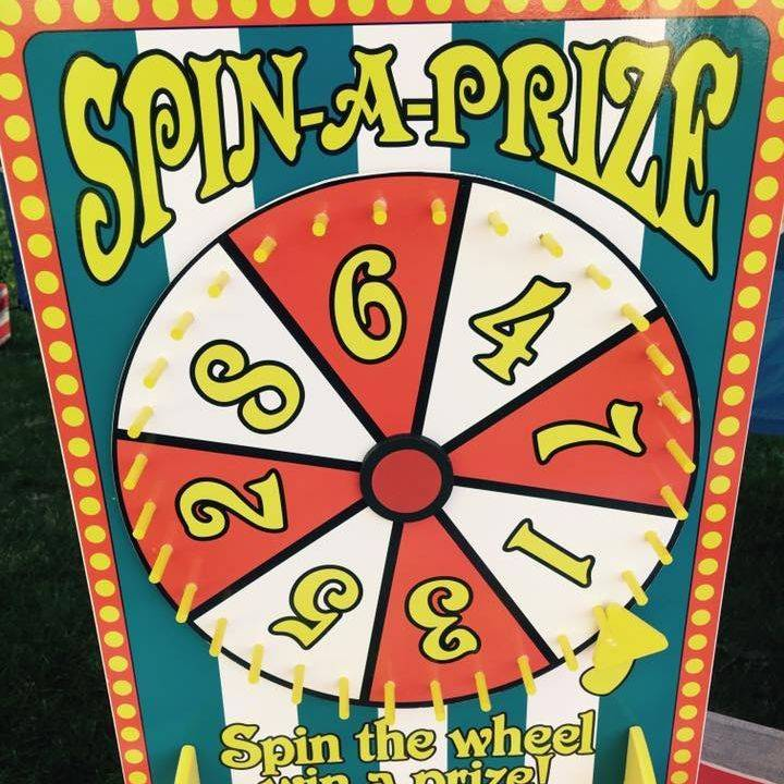 Spin a prize game