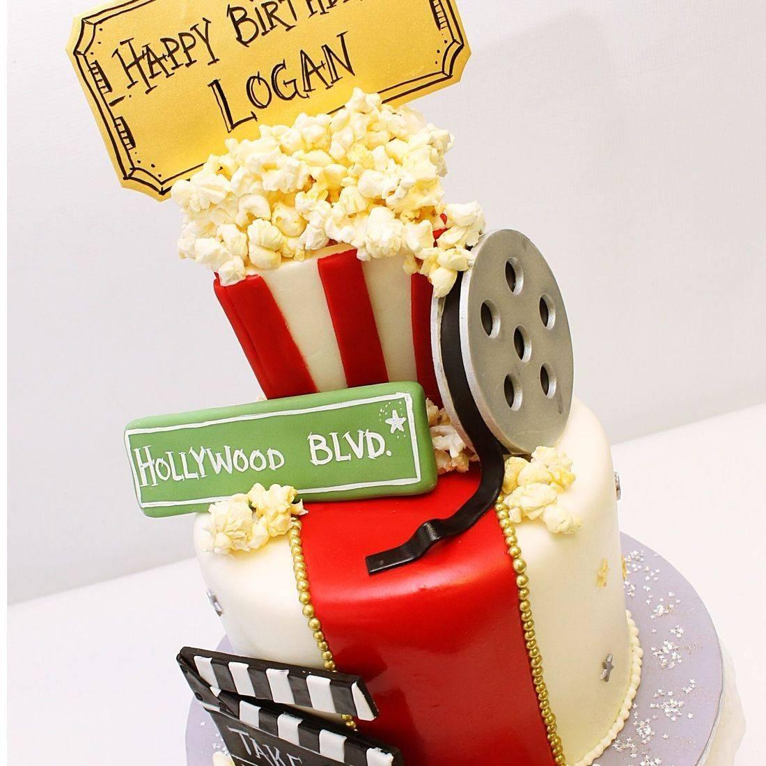 Custom  Hollywood Movie Star Cake  Milwaukee