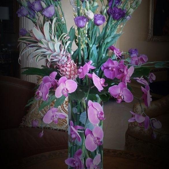 grand opening, arrangement, flowers,