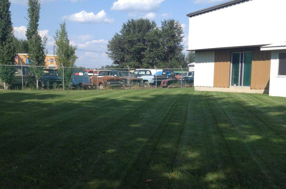 lawn care stony plain