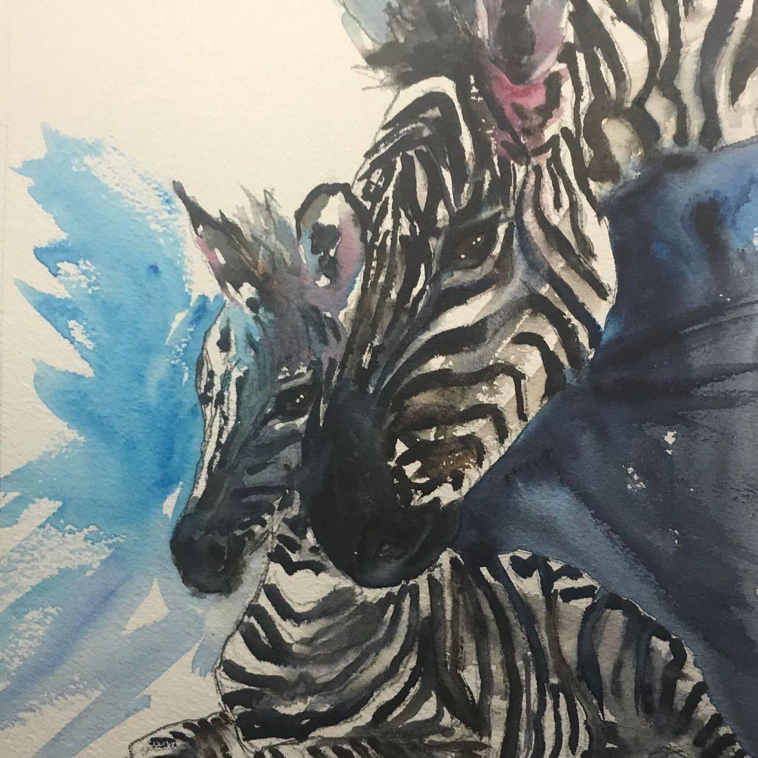 Rebecca Krutsinger nature watercolor painting