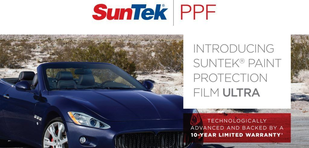 Suntek Ultra Paint Protection Film Kelowna