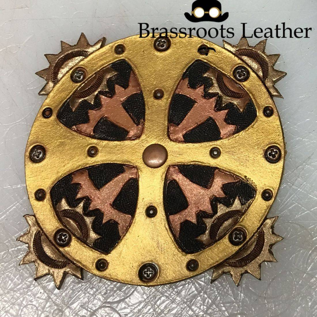 Leather Steampunk Pasty