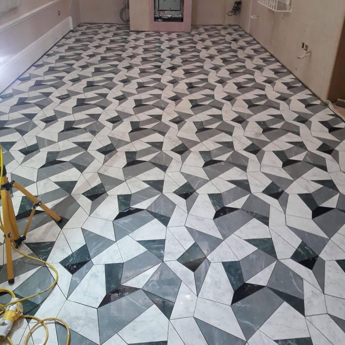Laser cut 3D tiles