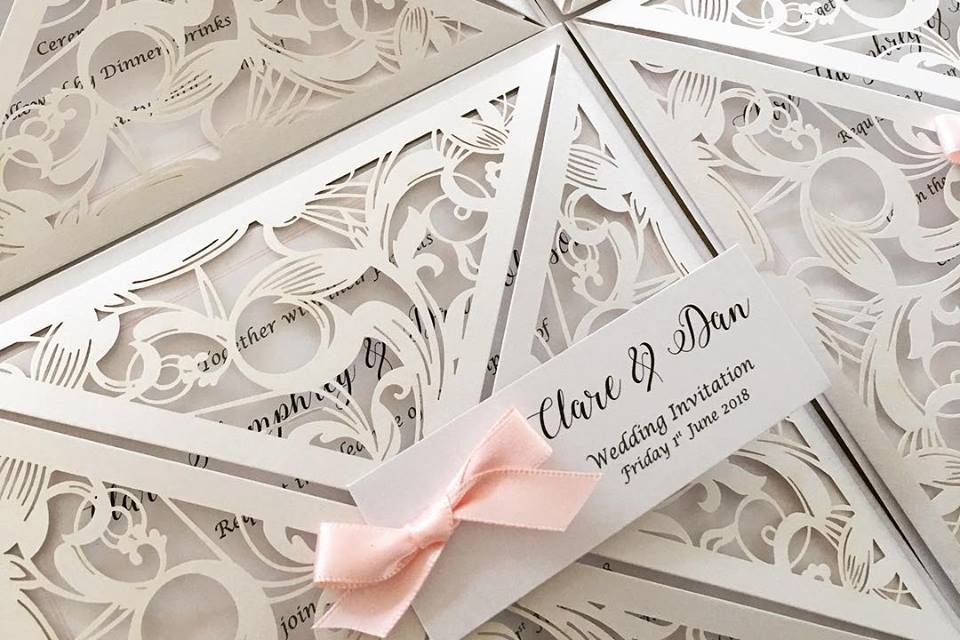 lasercut wedding invitations, wedding invitations luxury wedding invitations