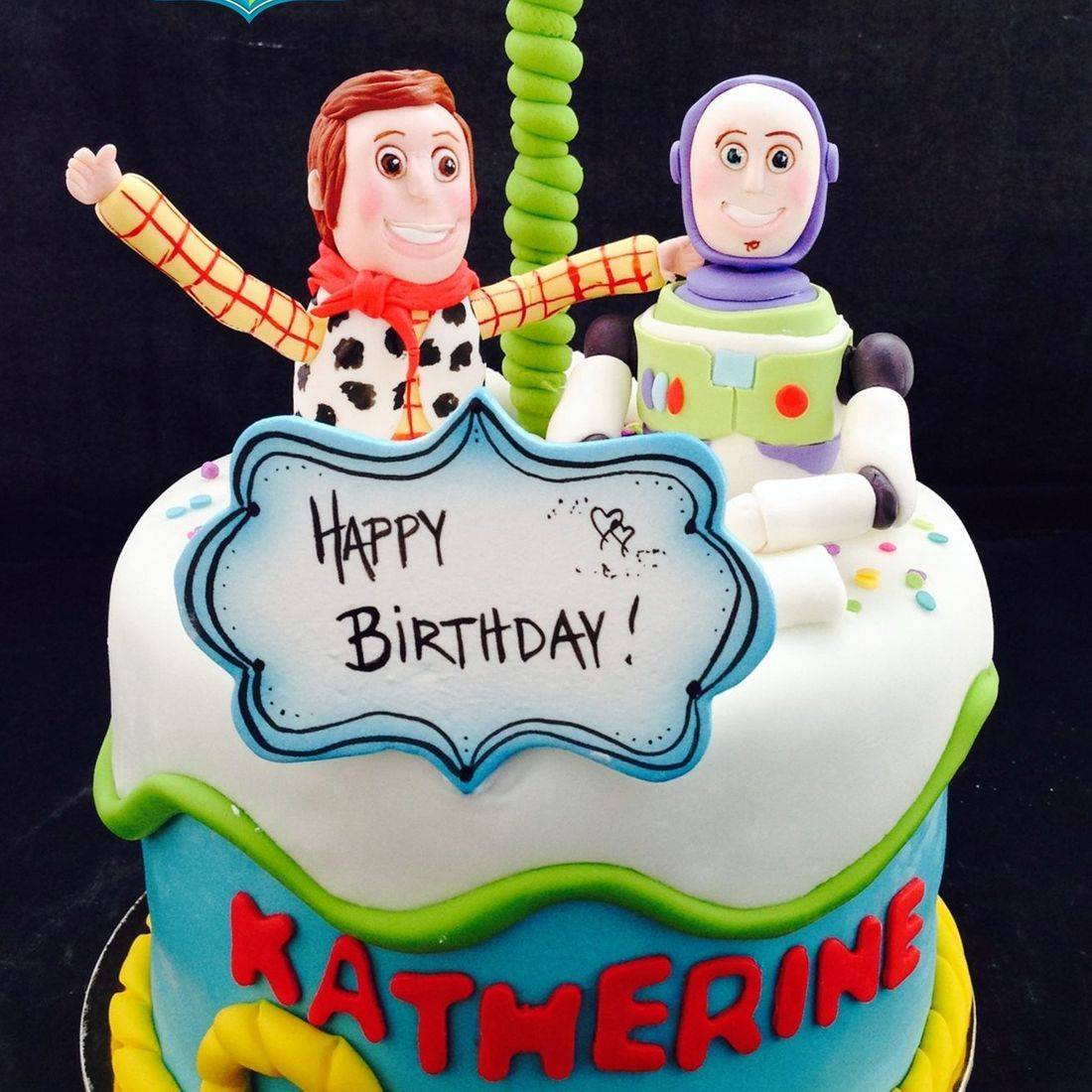 Custom Toy Story Cake Milwaukee