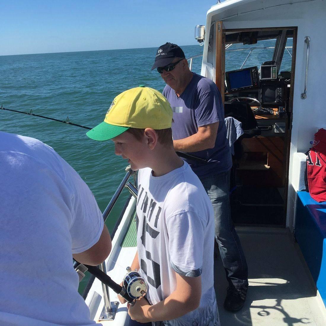 Mackerel trips, Greg Pitt Sea Fishing