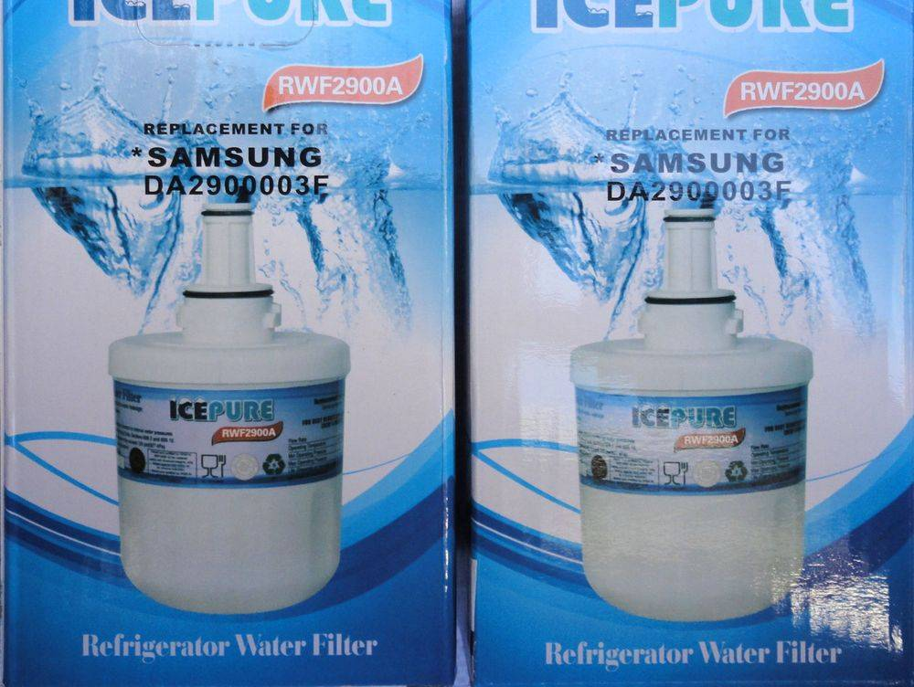 Samsung RWF2900A & RFC2900A replacement fridge ice water filter cartridge at www.aaafilterfast.com