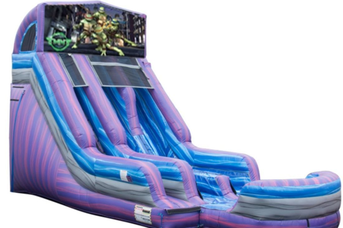 22ft purple paradise waterslide inflatable party rental
