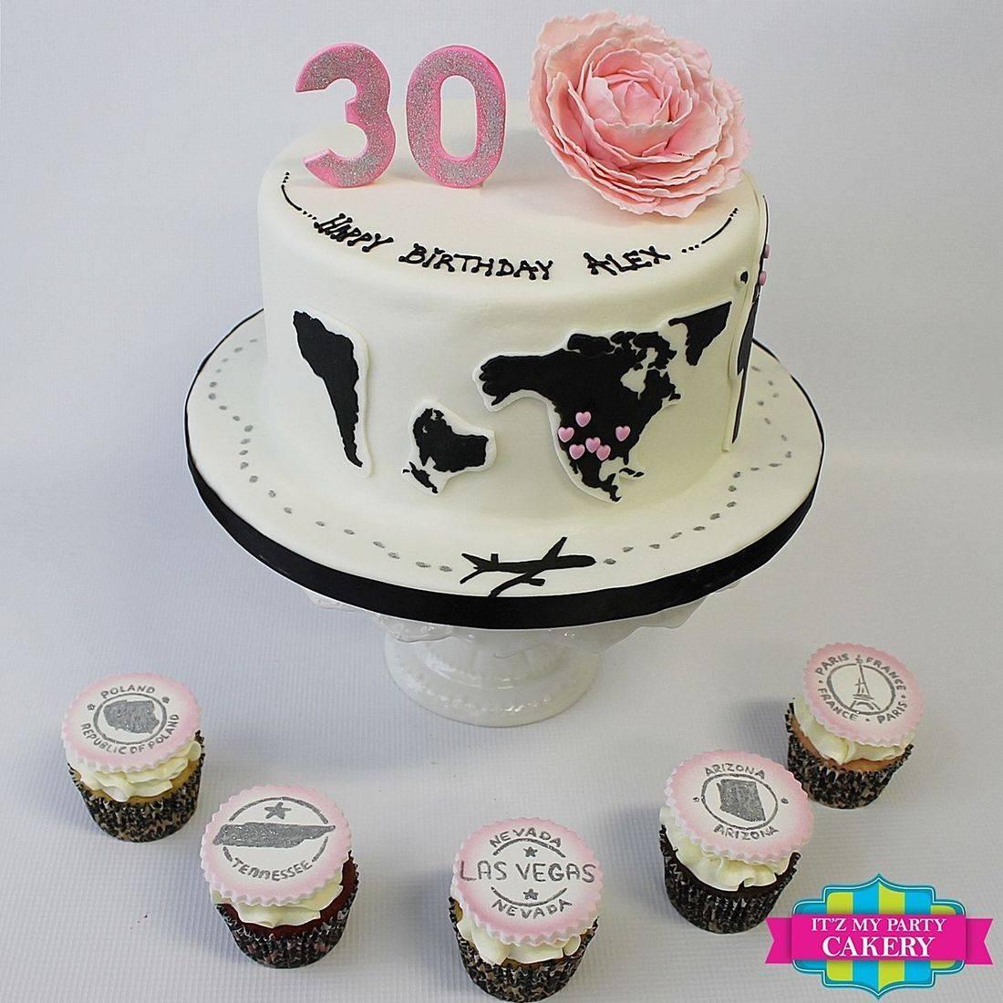 Custom World Travler Cake