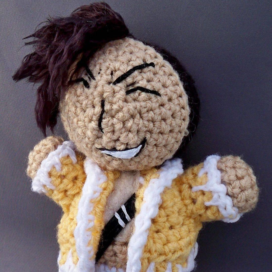 Ling Yao, Fullmetal Alchemist: Brotherhood, anime, otaku, geek, nerd, amigurumi, plush, doll, handmade, crochet
