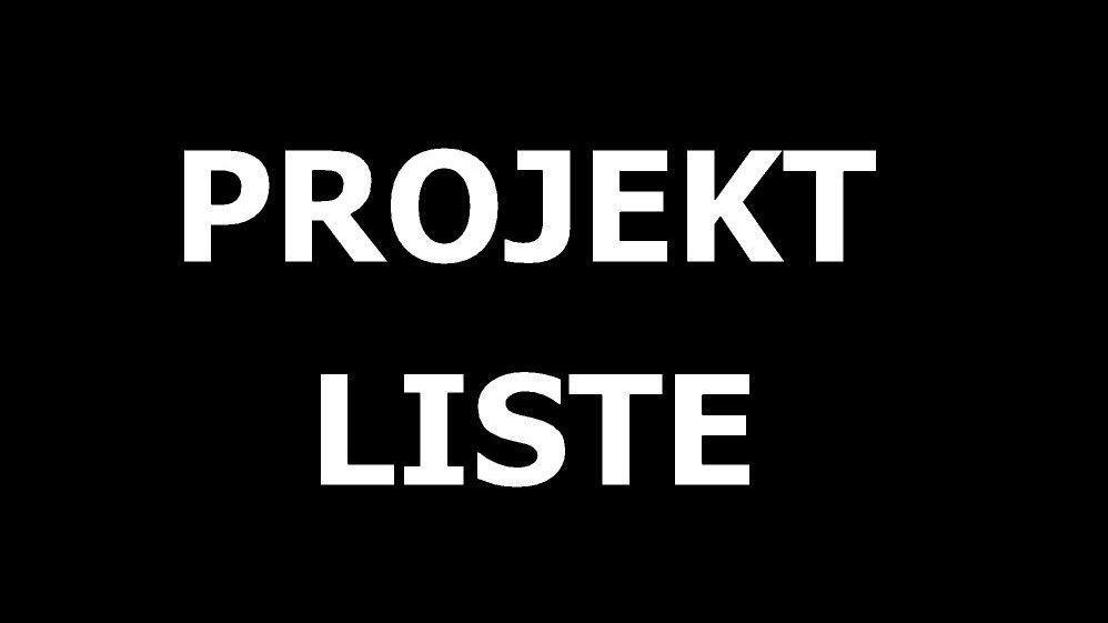 PROJEKTLISTE - Project Survey _ GP GOESCHproductions by Arch. Peter Gösch