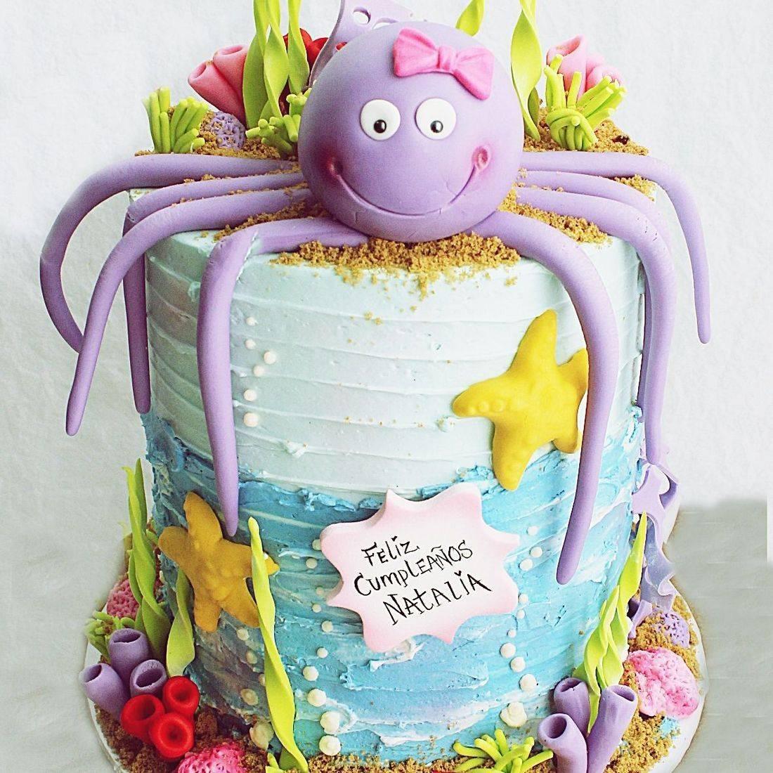 Under the sea stylized cakes milwaukee