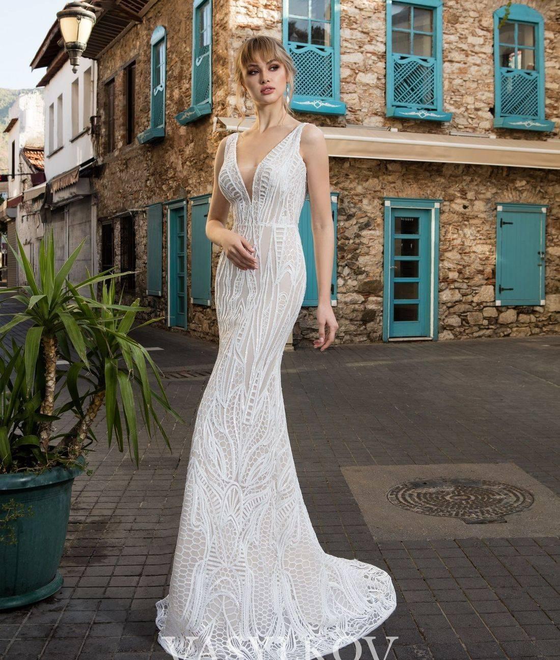 Beach wedding dress,simple wedding dress,modest wedding dress,wedding dresses