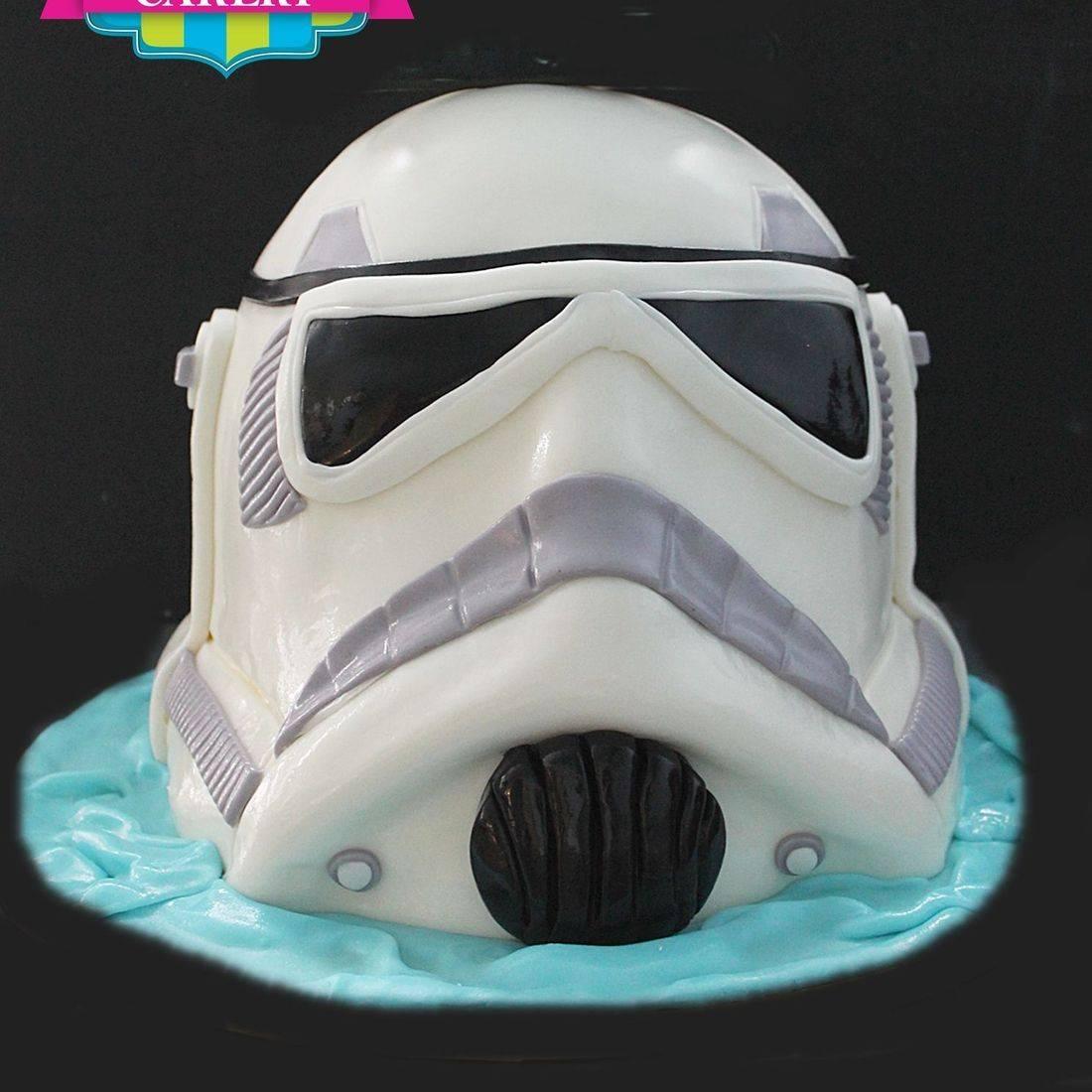 Storm Trooper Star Wars Cake Carved Dimensional Cake Milwaukee