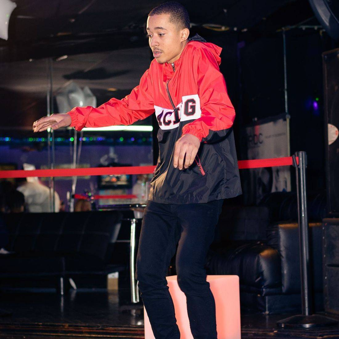 model minayouth hiphop dancer stan da man rose