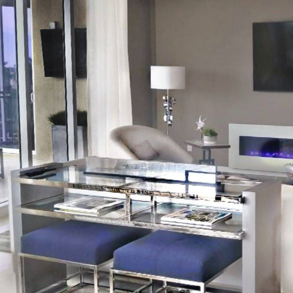 Built in Fire Place, Vanguard Furniture