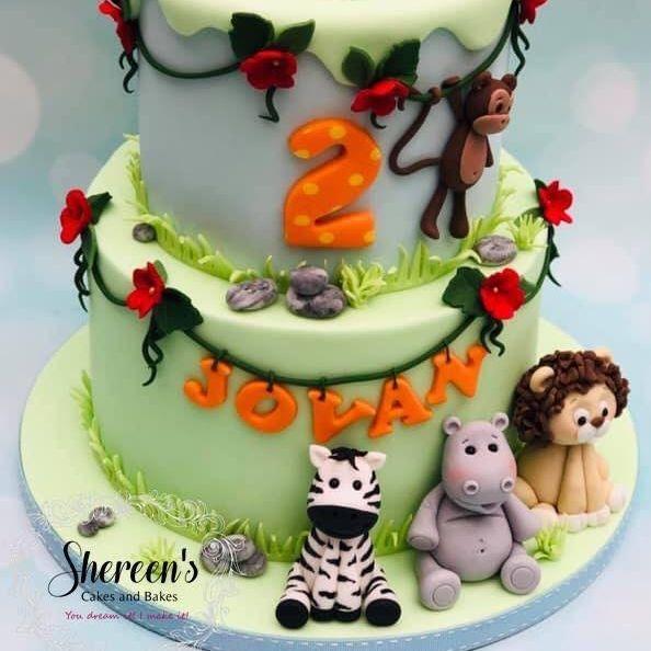 Birthday Cake  Jungle