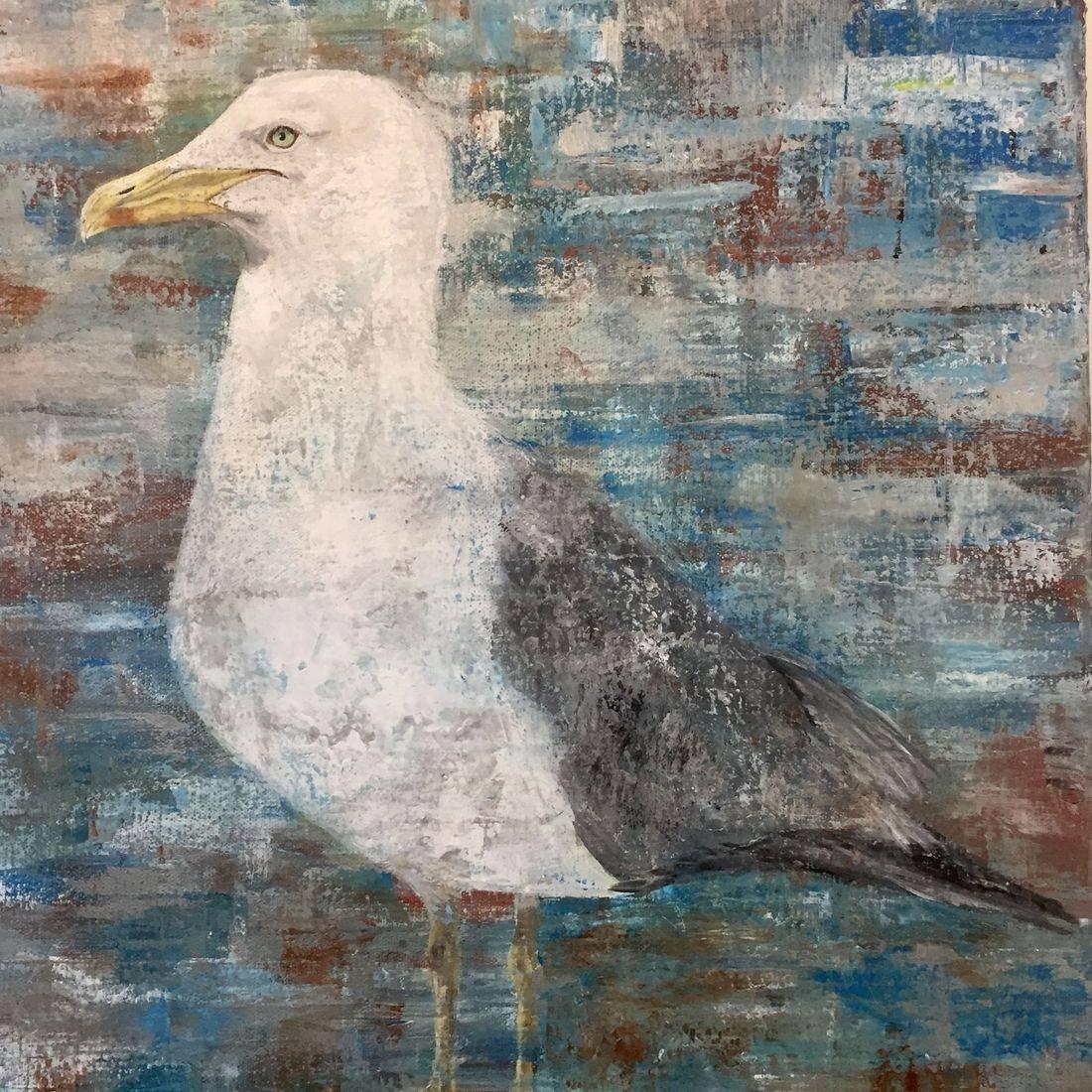 CMerritt  Seagull  Acrylics