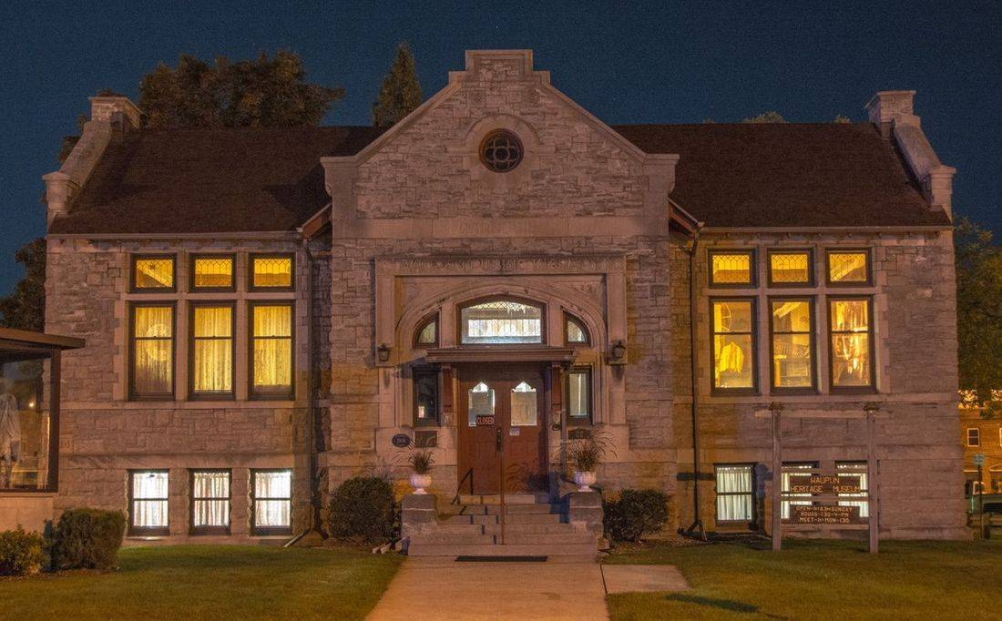 Carnegie, Waupun, Historical Society, Library