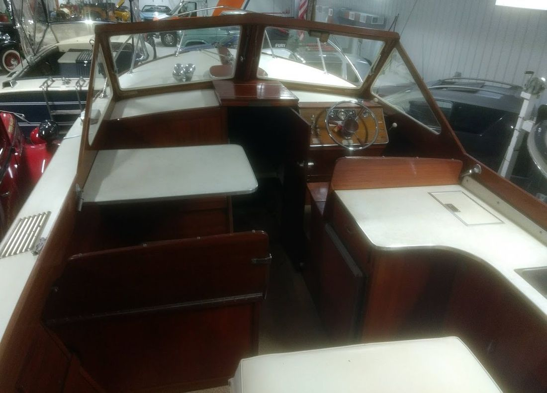 Lyman Cruisette wood boat for sale