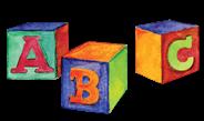 Colorful ABC blocks