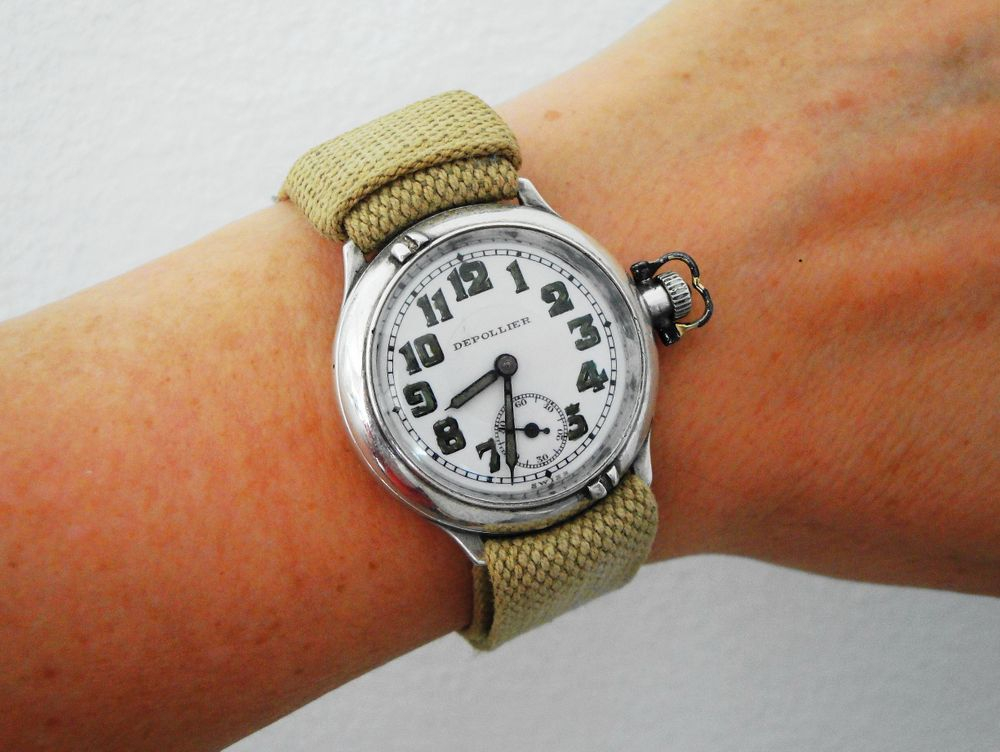 Depollier Generation #4 Waterproof Wrist Watch, ONLY one known to exist