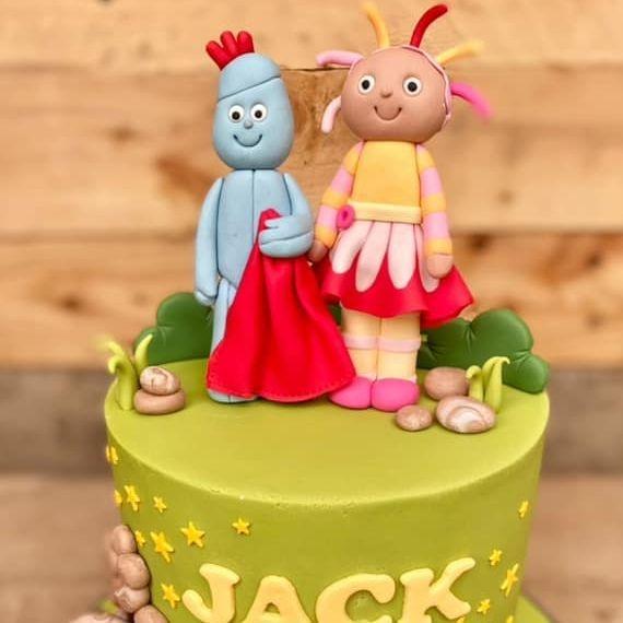 Night Garden Birthday Cake Upsy Daisy Iggle Piggle Makka Pakka