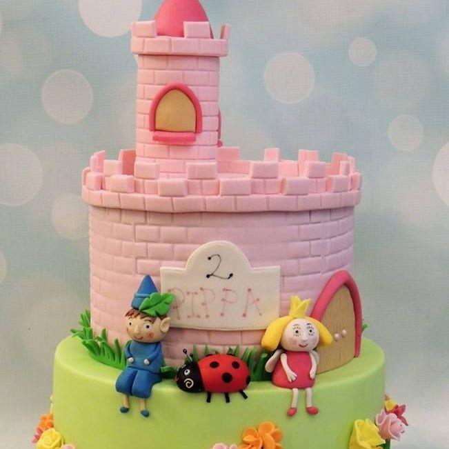 Ben Holly Castle Cake Birthday Gaston